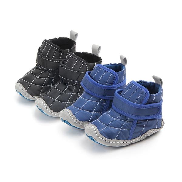 Großhandel Winter Herbst Baby Warme Schuhe Kind Jungen Mädchen Baumwolltuch Erste Wanderer Rutschfeste Weiche Sohle Kleinkind Sneaker 0 18 Monat Von