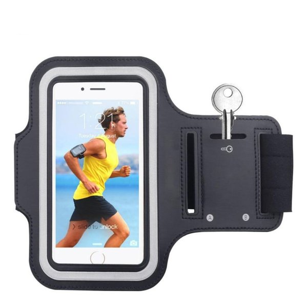5.5 inch Phone Cases for iPhone 8 7 6s 6 plus case Sport Armband Arm Band Belt Cover Running GYM Bag Case
