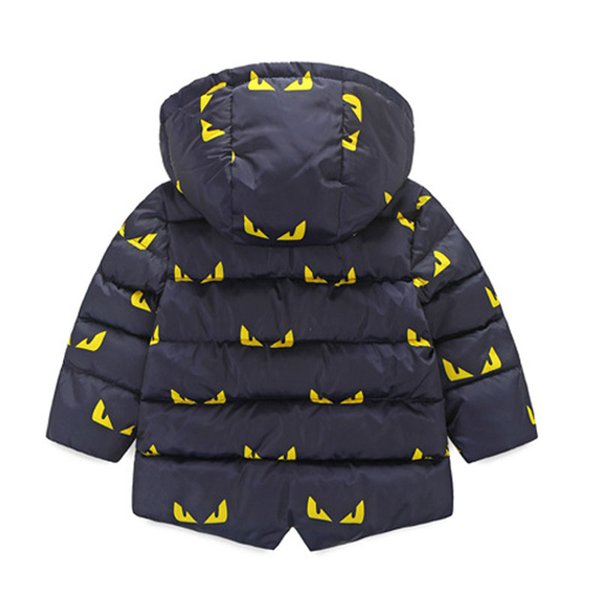 KEAIYOUHUO Enfants Petits Monstres Vestes 2017 Automne Hiver Veste Pour Garçons Veste Enfants Chaud Survêtement Manteau Bébé Garçons Vêtements