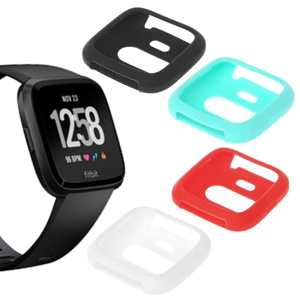 Silicone Protective Shell Protection Cover Case For Fitbit Versa Smart Watch