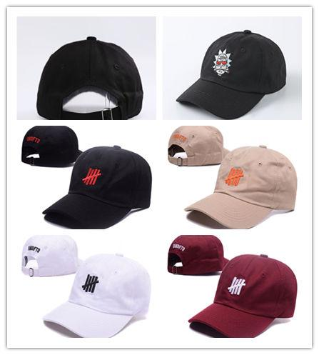 New Design Baseball cap 4 color UNDFTD Snapbacks hats Fashion HIP HOP Hats For MEN Woman baseball hats HOT 6 panel bone gorras swag