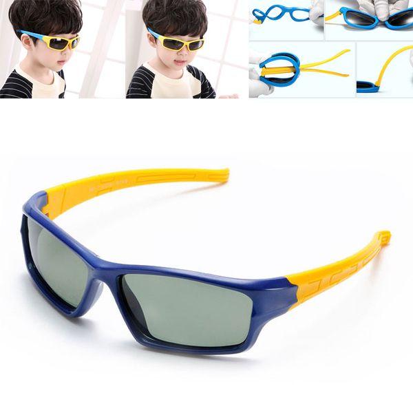 Kids Sunglasses Polarized Children Goggles For Boy Girl TAC TPEE Flexible Safety Frame Eyeglasses Shades Oculos De Sol 2018