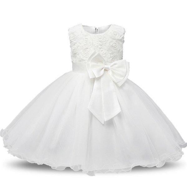 Großhandel Baby Taufe Kleid Baby Mädchen 1 2 Geburtstag Outfits Kleinkind Mädchen Baby Hochzeit Kleid Kleinkind Taufkleider Vestido Von Indusrain