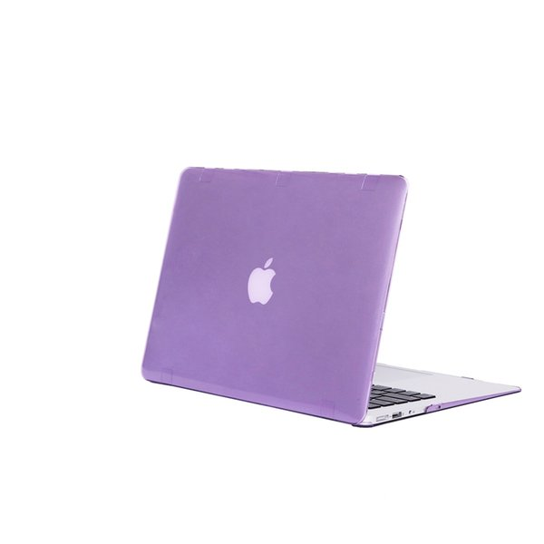 Free Shipping High Temperature Color Protective Wear resistant shockproof Crystal Apple Laptop PC Case for Macbook Air 11.6 inch