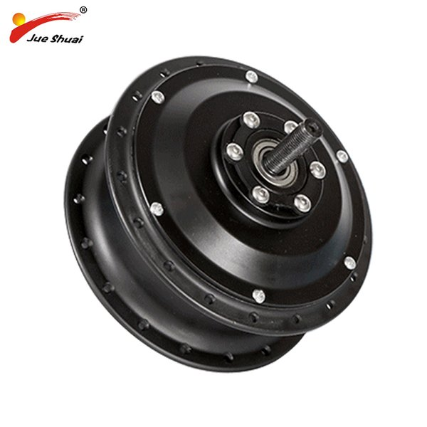 Free Shipping 48V 36V 500W Electric Wheel Motor Bicycle Hub Motor Black e-bike Rear Gear Drive engine Front Electric Bike Motor