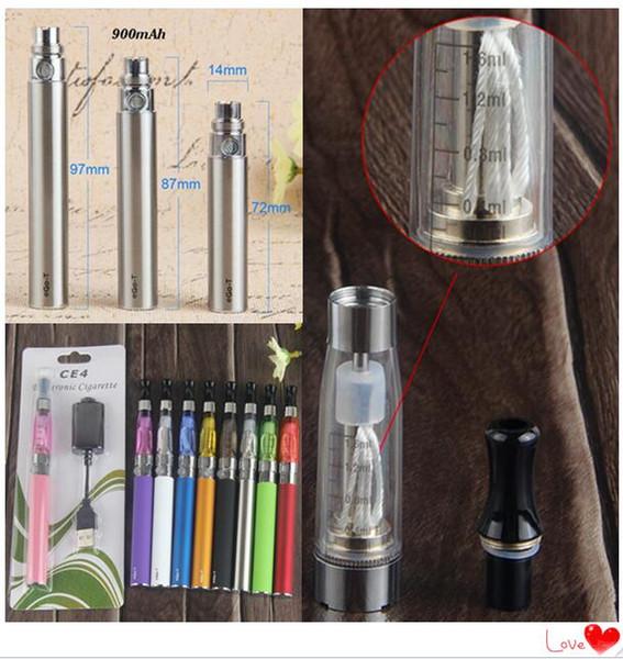 eGo-CE4 900mah Blister Kits
