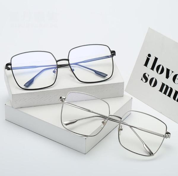 MDG Nerd Computer eye glasses Men frames Male eyeglasses optical frame clear lens Masculino Glass frame
