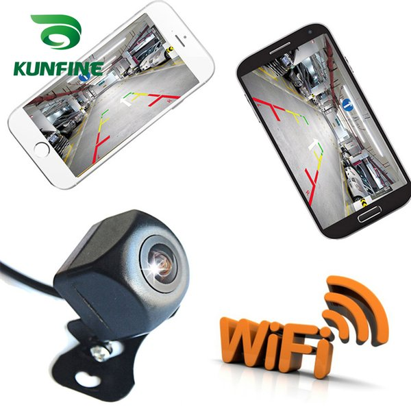 Universal Wireless Car Rear View Camera WIFI Reversing Camera Dash Cam Star Night Vision Mini Body Tachograph for iPhone and Android