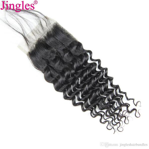 9a qualidade brasileira onda profunda 4x4 top lace closure 100 virgem remy fechamento do cabelo humano top swiss lace cuticle brasileiro alinhado cabelo remy