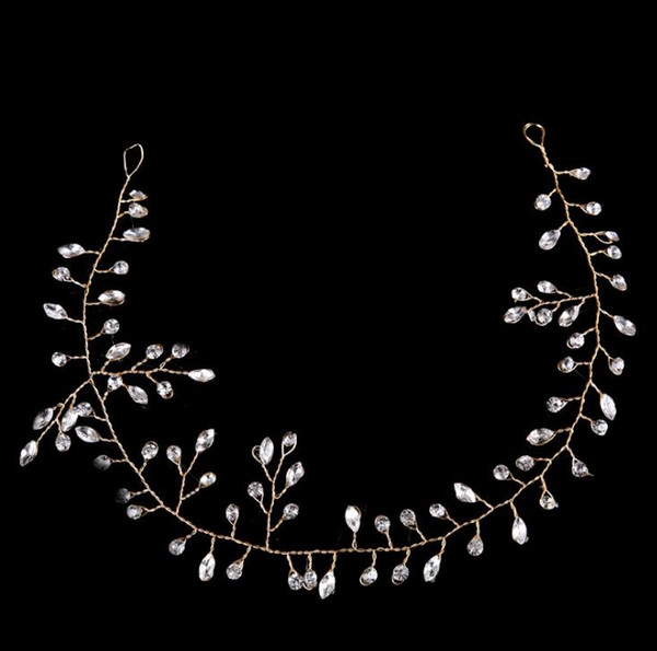 Bridal handmade ornaments, exquisite silver pearl pearl embroidered hair belt, Bridal Wedding Accessories Headband