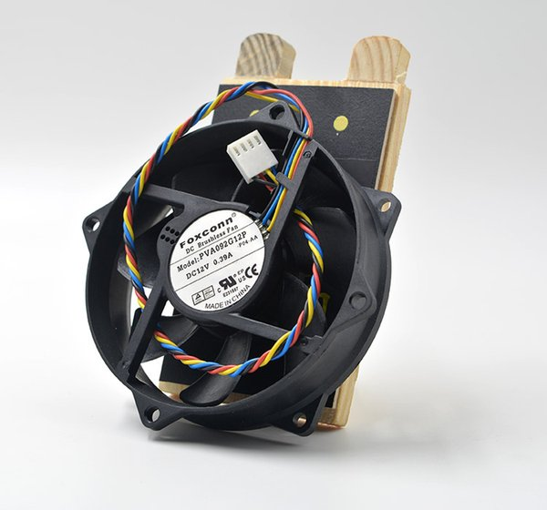 FOXCONN 9025 PVA092G12P 12V 0.39A magnetic levitation fan with 4 pin circular cooling fan