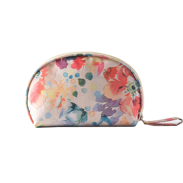 Women's Shell Shape Mini Cosmetic Bags Makeup Tools Organizer Pouch Wash Toiletry Vanity Travel Case Accessories