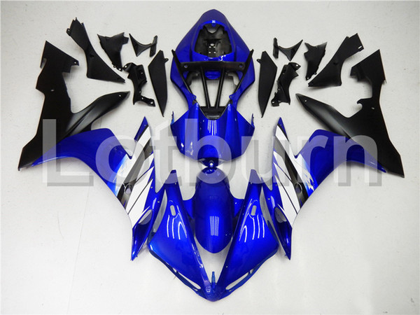 Blue Moto Fairing Kit Fit For Yamaha YZF-R1000 YZF-R1 YZF 1000 R1 2004 2005 2006 Fairings Custom Made Motorcycle Bodywork Injection A391