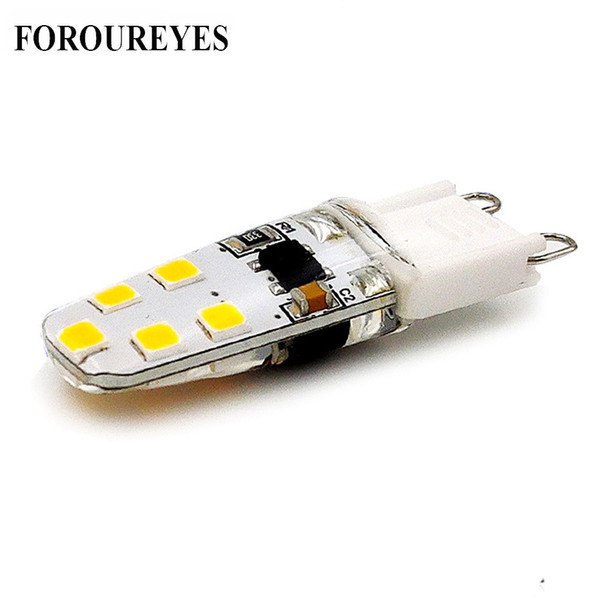 G9 LED Lamp AC220V 10LEDS 2835SMD 3W LED Light Bulb 260LM Super Bright Chandelier LED Light Replace 30W Halogen Lamp