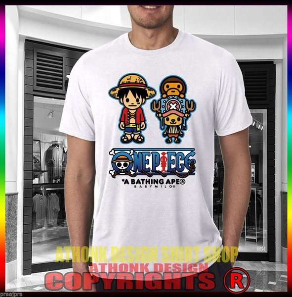 A Wholesale Baby Milo One Piece T-Shirt One Piece Men'S White Shirt T Shirt Gift More Size And Colors Summer Fashion Funny Print T-Shir