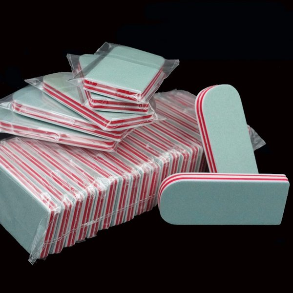50Pcs/Lot Buffer Sanding Block Files Manicure Pedicure Polish Shiner Nail Care Buffing Nails Art Tools Wholesale