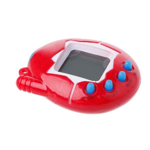 Hot Selling Cartoon Electronic Pet Hand-hold Digital Virtual Game Machine Kids Children Toys #330