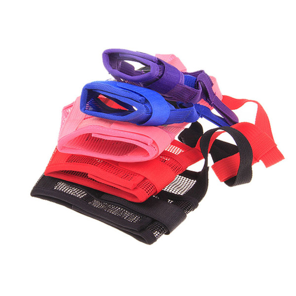 Hot Sale 5 Sizes 8 Colors Preventing Barks Nylon Soft Dog Pet Muzzle Mask Anti-bite Masks For Dog Products Pets Accessories