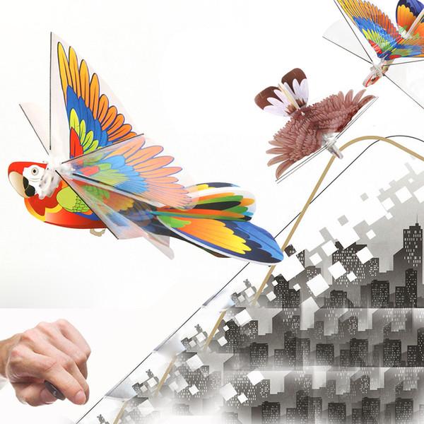 Kid Fun Toy Presente Anti-stress Menino Menina Adulto Pássaro Zangão 2.4GH Controle Remoto Pássaro Eletrônico Mini RC Drone Ano Novo brinquedos