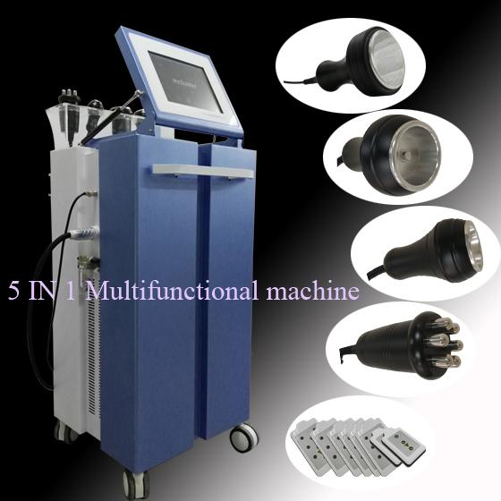 Tripolar RF Liposuction BIO Vacuum Ultrasound Cavitation Machine Weight loss Fat Reduce lipolaser Body Shaper 5 in 1