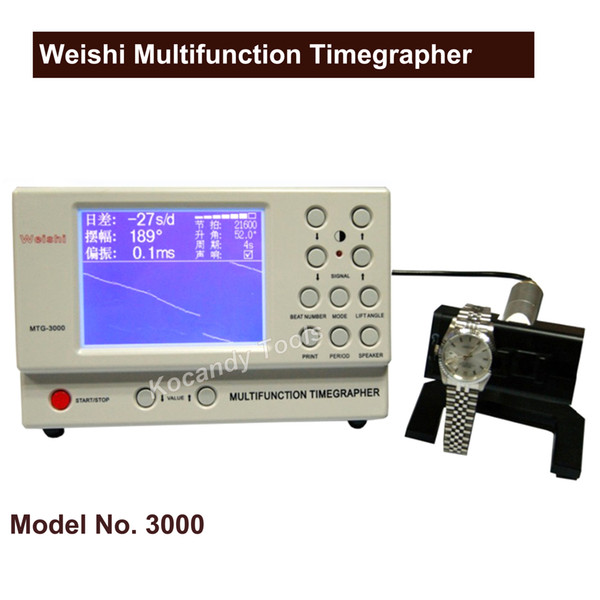 MGT-3000 Watch Timing machine,Repair Tools Multifunction WatchTiming Testing Timegrapher