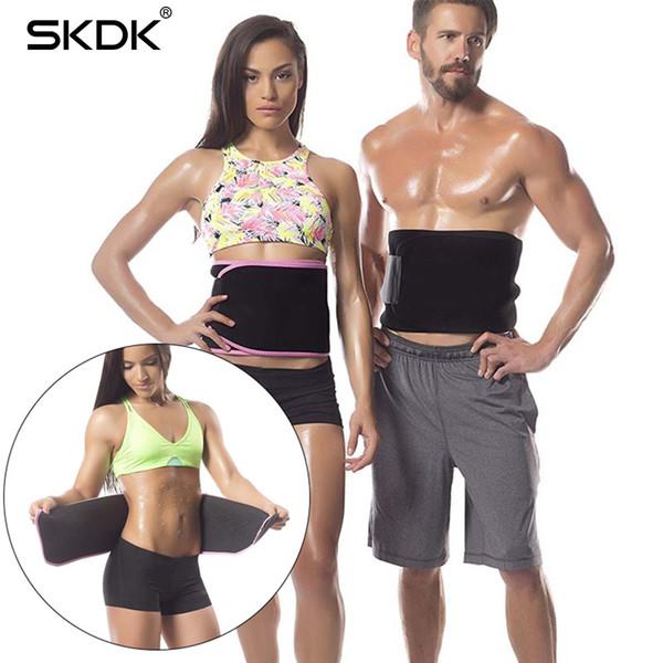 SKDK 1PC Slimming Belt Girdle Body Shaper Waist Support High Elastic Lose Weight Sweat Belt Squat Strength Back Brace