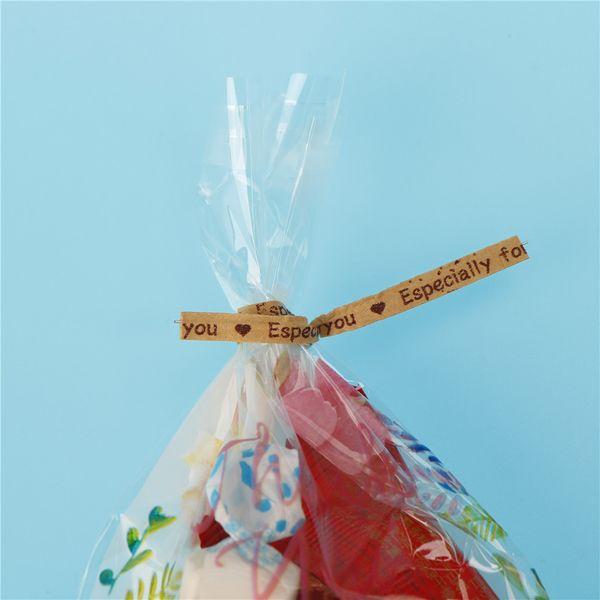 Wraping Twist lazos especialmente para ti suministros de Fiesta Boda De Envoltura De Regalo