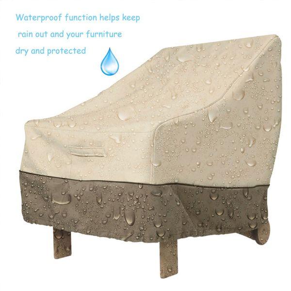 À prova d 'água 420D Oxford Pano Tampa de Mesa de Café Jardim Mobiliário Ao Ar Livre Capa Protetora Pano de Tabela À Prova de Poeira Suprimentos Têxteis