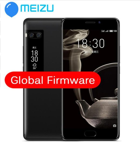 "Wholesales Original Meizu Pro 7 Plus 6GB 64/128GB 4G LTE MTK Helio X30 Deca Core 5.7"" Screen Dual Rear Fast Charge Cell Phone Dual Screen"