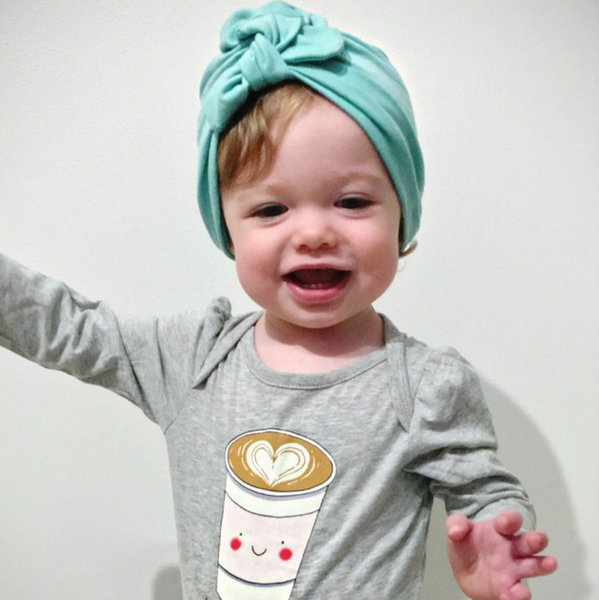Colored Organics Baby Boys Knotted Hat