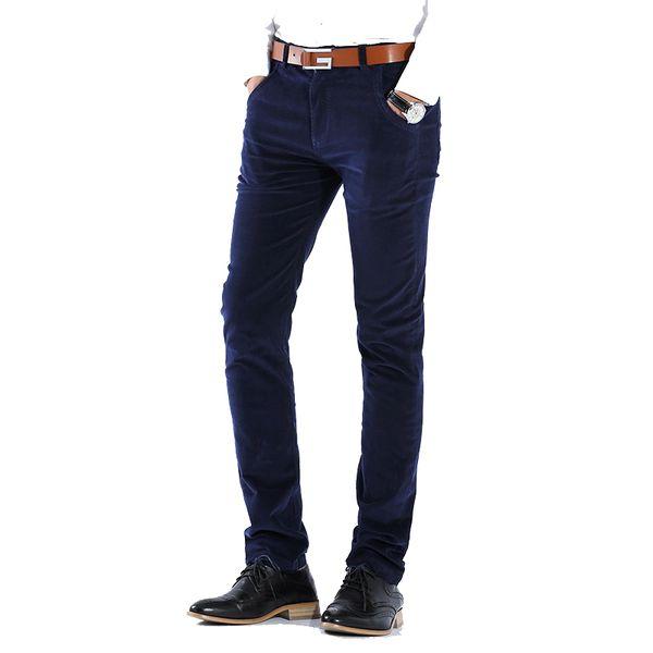 Man autumn stretch corduroy pants Korean style casual trousers (Asian size 29-36)