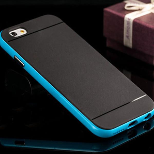 Nouveau Hybrid Case Soft TPU Hard PC Ultra Mince Couverture De Couverture Antichoc Capinhas 2 en 1 téléphone cas pour iPhone X 8 7plus