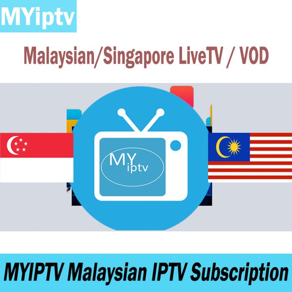 Compre MYIPTV 4K Suscripción De TV De Malasia Singapur Canales De IPTV En  Vivo Indonesian TV Abonnement Program VOD Para Android TV Box A $24 75 Del