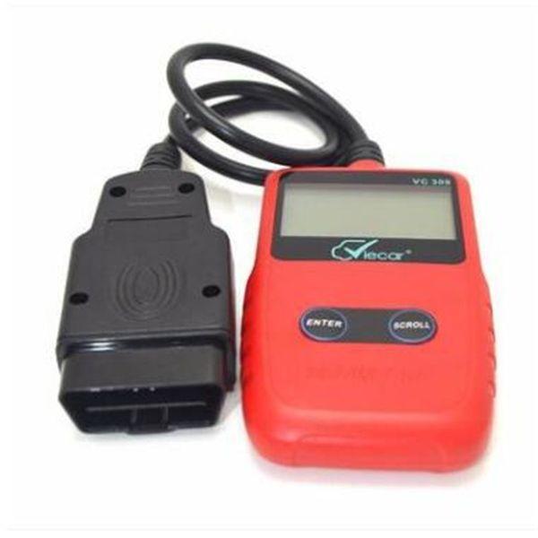 2018 vc309 obd2 obdii código escáner vehículo herramienta de detección de fallas diagnostotic instrumento lector misma función ms309 trabajo perfecto