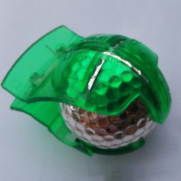 Hewolf Golf Ball Line Clip Liner Marker Template Alignment Marks Putting Clip Tool Professional Putting Aids Green Golf Training