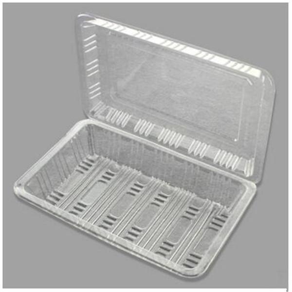 L impression spéciale flowr sushi boîtes d'emballage en plastique biodégradable jetables sushi boîte d'emballage alimentaire boîte à lunch livraison gratuite 100pcs