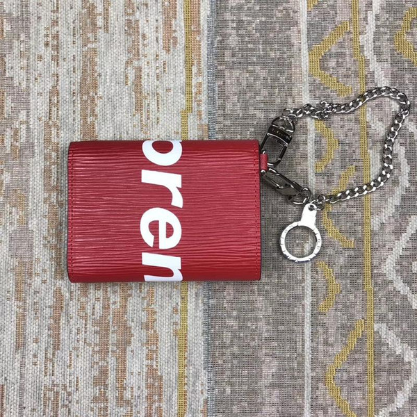 Brand Women Purse Wallets Famous Designers Coin Wallets Womens ID Holders Bag Chain Coin purses Zipper Brands Key Wallets