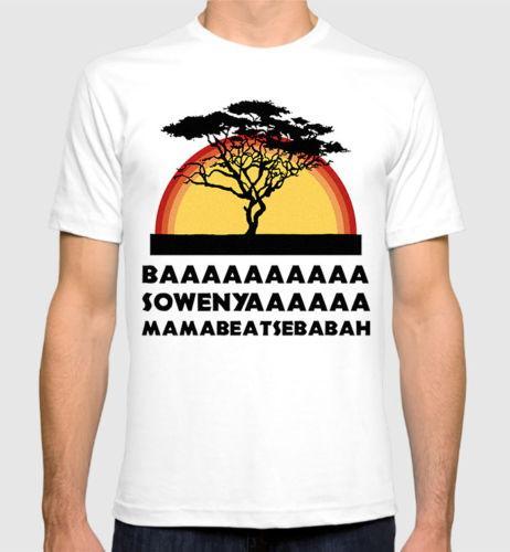 T-shirt Drôle Le Roi Lion, tee shirt Cercle de la vie Baa Sowenya, femmes de toutes les tailles, choses étranges, t-shirts originaux
