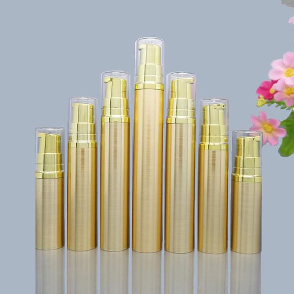 5/10/15/20ml plastic Vacuum Pump Bottle Eye Cream Liquid Foundation Empty Cosmetic Containers F908