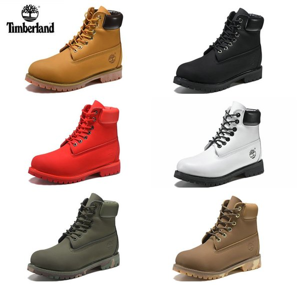 2018 Timberland botas Men Designer Sports Shoes Sneakers Casual Mens Womens Trainers Wheat Gold Silver Luxury Brand timberlands boots