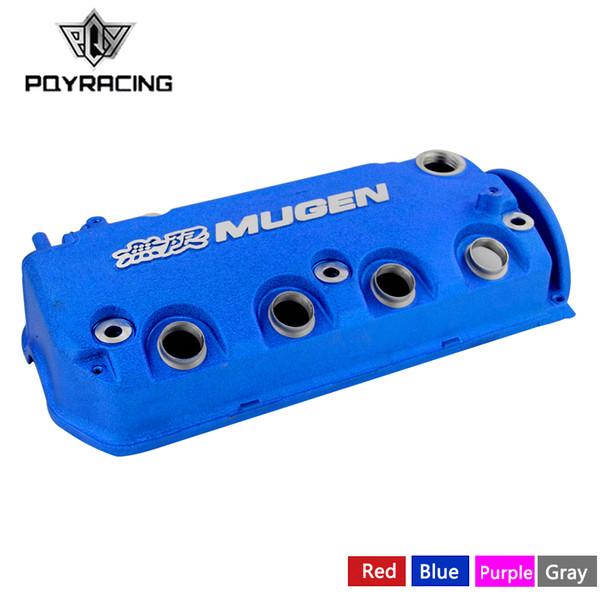 top popular MUGEN Type R Rocker Valve chamber cover For Honda Civic D16Y8 D16Y7 VTEC SOHC PQY-VCC02 2019