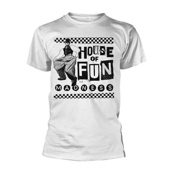 Loucura Casa da Diversão Ska Rock Suggs off-line Männer T-Shirt Herren