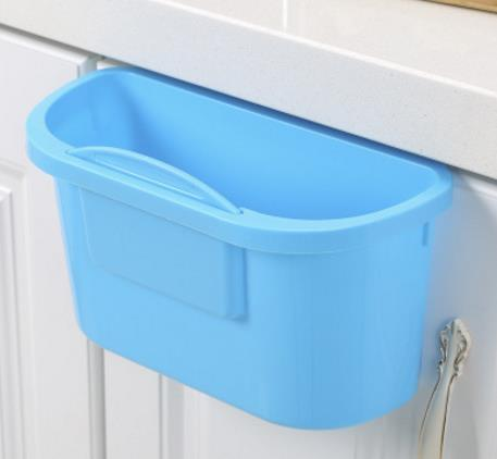 Kitchen Wall-mounted Trash Can Home Living Room Bedroom Bed Cabinet Door Wall Hanging Trash Can