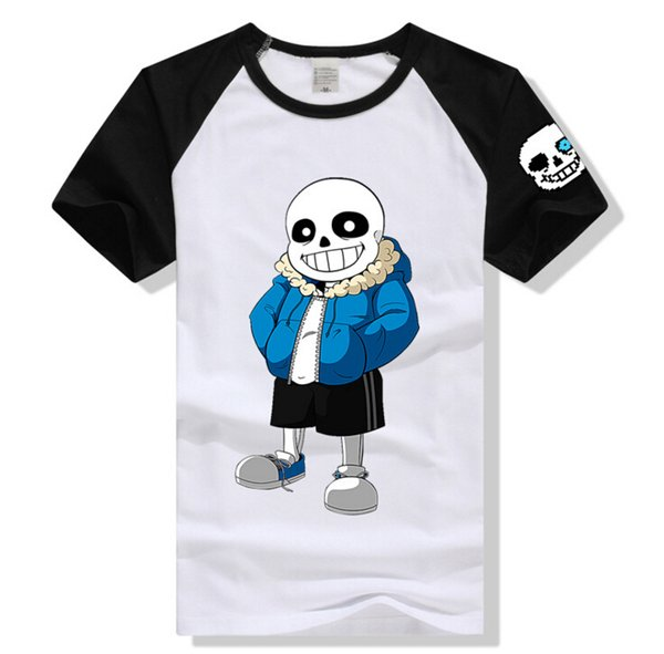 Male Clothing Cute Printing Men Women Casual Couples T-shirts 7 Colors 2 Types Summer Tee