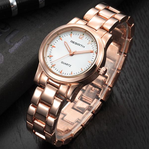 5cbae92fce4 Compre Novo Estilo Mulheres Pulseira Relógios Famosa Marca De Luxo Rose  Gold Mulheres Relógio De Quartzo Das Senhoras Relógio De Pulso Relógio ...