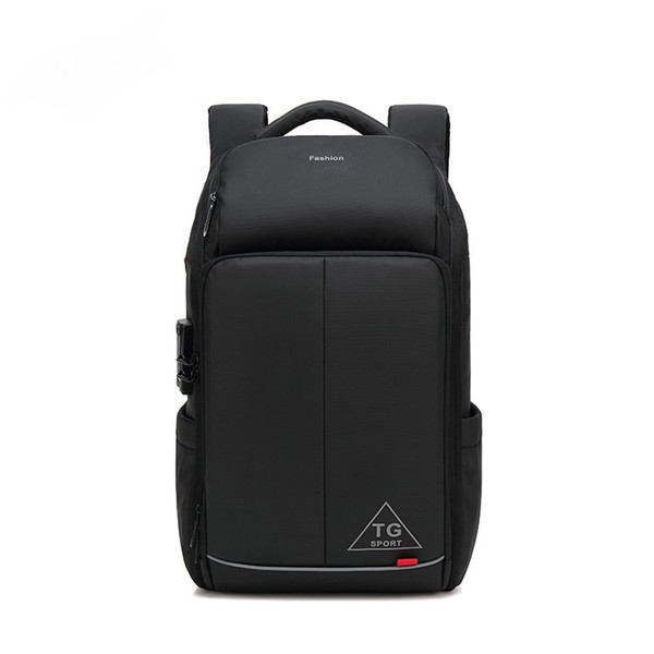New man USB business backpack Oxford cloth bulky anti-theft waterproof computer bag fashion multi-functional travel backpack