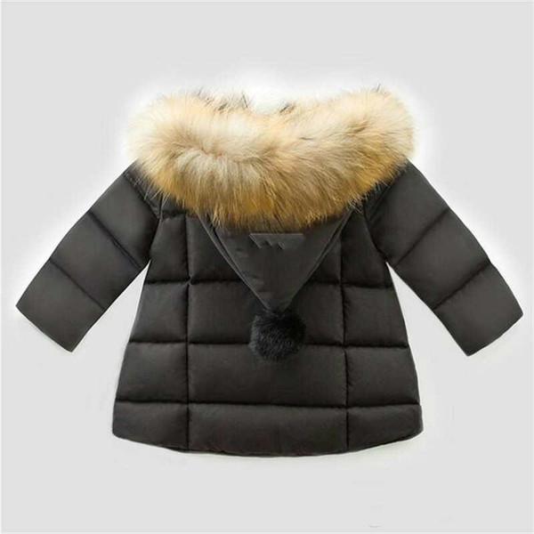 Çocuk Mont Erkek Ve Kız Kış Coat Set Coats Çocuk Hoodies Bebek Ceketler Yastıklı Çocuk Dış Giyim Çocuklar 2 Renk 1-6T Bebek Sıcak Satıldı.