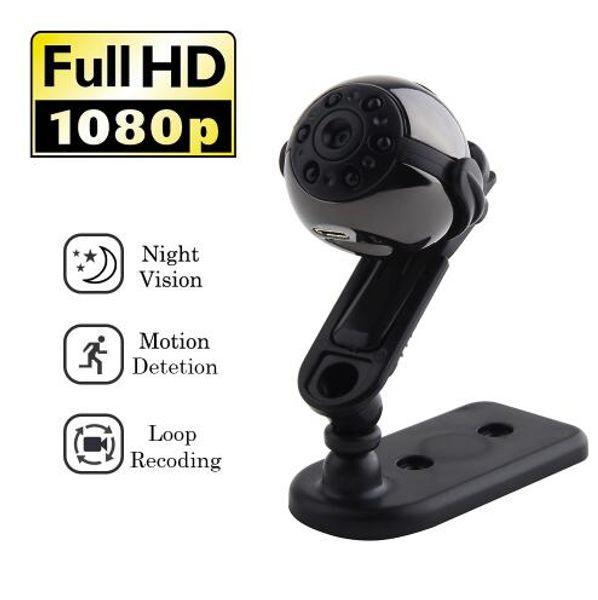 Mini Camera DVR Full HD 1080P Micro Sports DV Camera with Motion Detection Night Vision Portable Video Recorder Camcorder