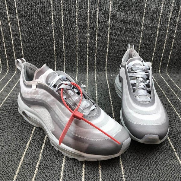 2019 Off Max 97 Menta Sneakers Newest RELEASE Sale For Men Women SHOELACES Wolf Grey White Rainbow White Hangtag Sports Running Shoes AJ4585 101 From