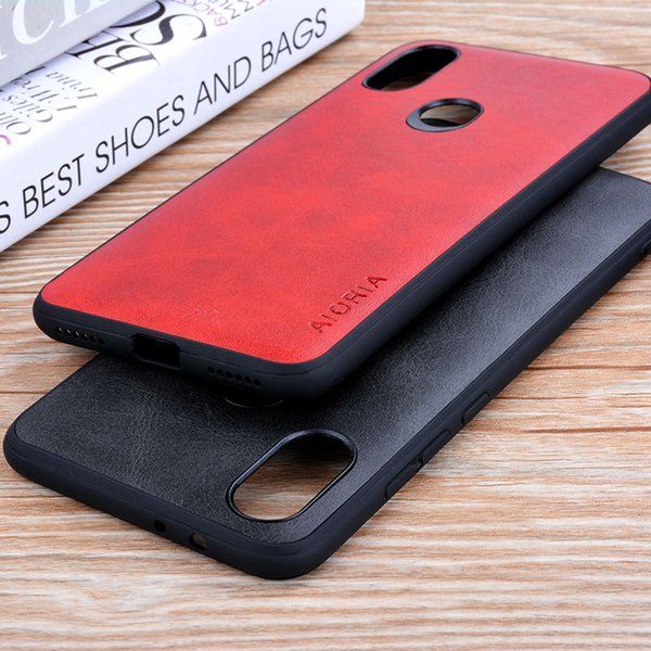 per Xiaomi Mi A2 8 SE 5C MIX 2S redmi note 3 case Custodie in pelle vintage di lusso per Xiaomi Mi A2 6X funda coque Business Vintage style